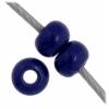 Czech Seedbead 11/0 Dark Royal Blue Opaque